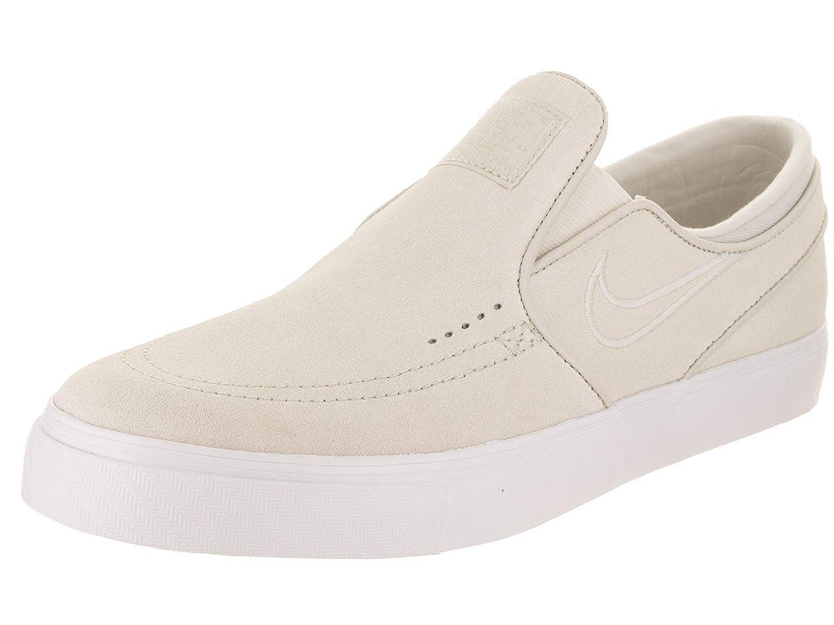 wholesale dealer 66510 0af57 Amazon.com   NIKE Men s Zoom Stefan Janoski Slip White Light Bone White  Skate Shoe 11 Men US   Skateboarding