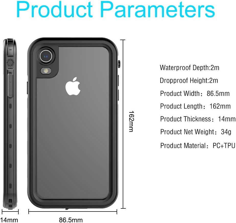 iPhone XR 6.1 Inch 6.1 Inch Waterproof Underwater Case, [Rugged ...