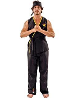 Cobra Kai Karate Kid costume - One Size: Amazon.co.uk: Kitchen