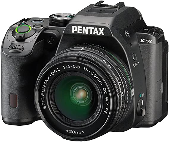 Pentax K-S2+18-50WR+50-200WR - Cámara fotográfica digital, color ...
