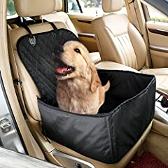Love your pets and love your car!        Take your dear pets traveling with you!  Features:  Made of short floss & dacron, soft, water-proof, non-slip for pet to sit.  Keep you seat clean and free of pet fur and excreta. Hammock st...