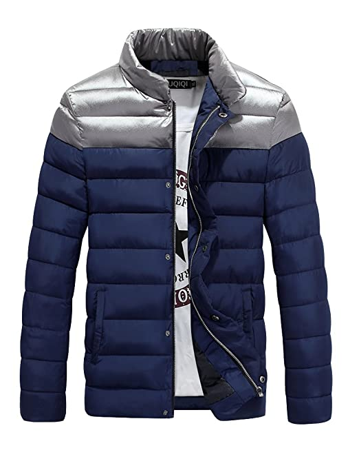 PengGeng Hombre Slim Fit Chaquetas Acolchado Jacket Parka Abrigos Calentar Outwear: Amazon.es: Ropa y accesorios
