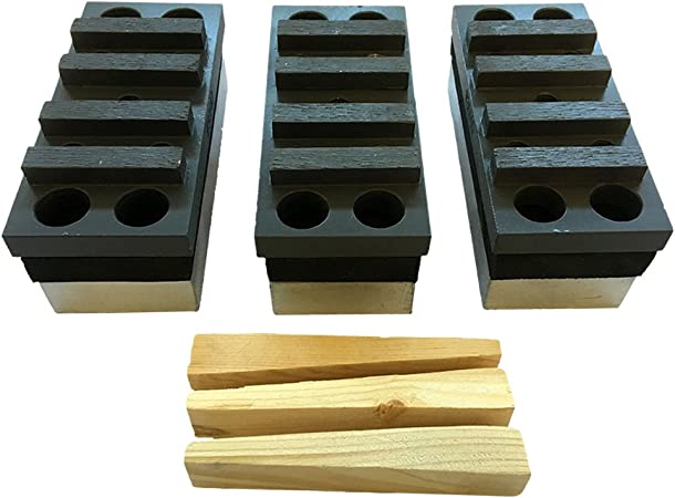 6PK EDCO Wood Wedges for Surface Grinder Accessories Best Quality