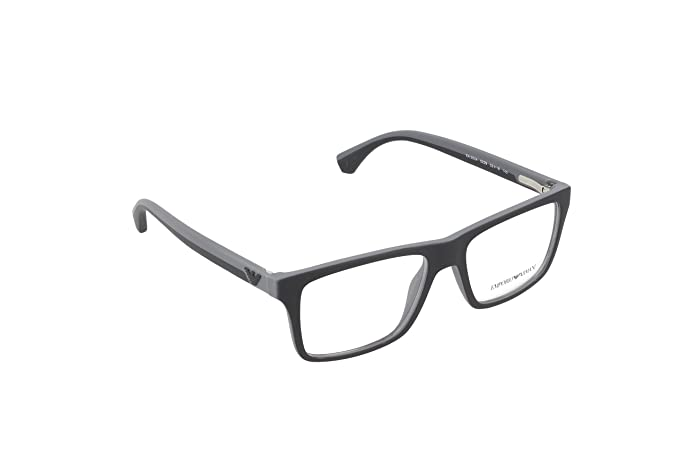 fd2f08d284a Image Unavailable. Image not available for. Colour  Emporio Armani EA 3034  Matee Black-Rubber Grey Frame