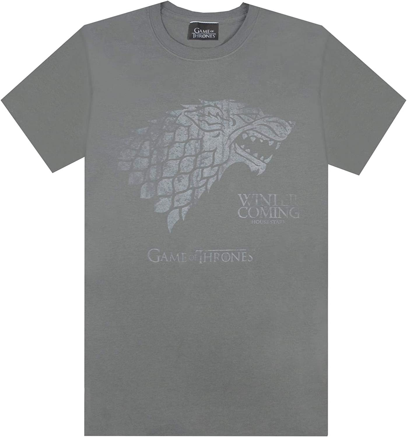 Game of Thrones Stark Winter Is Coming Mens T-Shirt