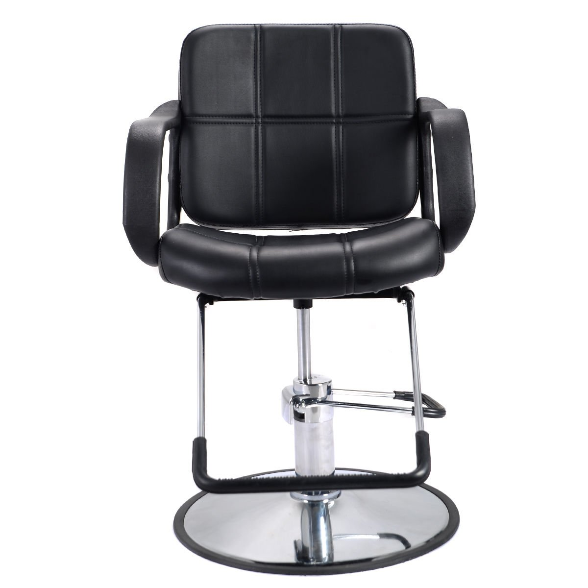 amazoncom giantex classic hydraulic barber chair salon beauty spa hair styling equipment beauty