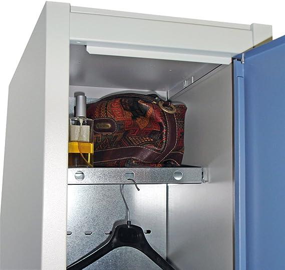 1800 x 530 x 520 mm Desmontado Taquilla Met/álica 3 Puertas 2 M/ódulos Med