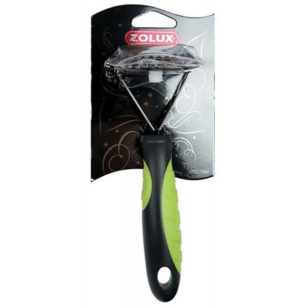 Zolux Etrille Démêloir 10 Dents Sécurisées pour Chien 3336024707296