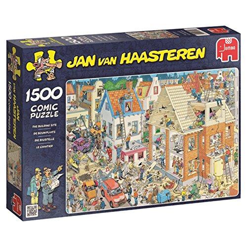 Jigsaw Puzzle Building - Jumbo Jan Van Haasteren The Building Site Jigsaw Puzzle (1500 Piece)