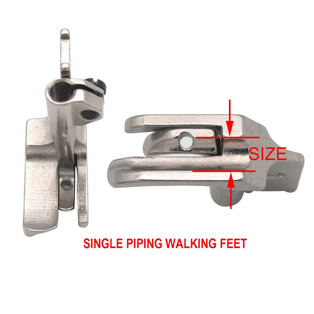 SINGER 111W,221W DOUBLE WELT PIPING CORDING,WALKING FOOT WITH EDGE GUIDE