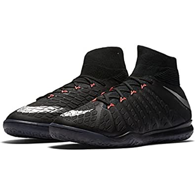 pretty nice 07c32 7e3b7 Nike Hypervenomx Proximo II Dynamic Fit Indoor Shoes  Black  (9.5)