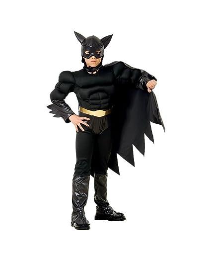 Topwell Batman BAT Hero traje Niño 5 +, Color Negro, 5 - 7 ...