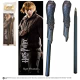 Harry Potter Ron Weasley Wand Pen and Bookmark
