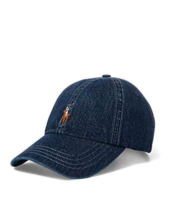 Gorra Curva POLO RALPH LAUREN Denim Unica Azul: Amazon.es: Ropa y ...