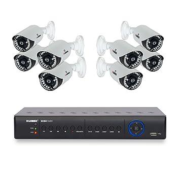 Lorex lh03045gc4 W Eco negro caja Stratus de 4 canales DVR con 4 Cámaras inalámbricas