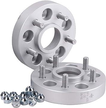 Hofmann Spurverbreiterung Aluminium 2 Stück 30 Mm Pro Scheibe 60 Mm Pro Achse Inkl TÜv Festigkeitsgutachten Auto