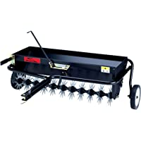Brinly AS-40BH Tow Behind Combination Aerator Spreader, 40-Inch,Black