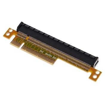 Tarjeta Gráfica PCI-E Convertidor de Tarjeta vertical PCI Express 8X a 16X Accesorios