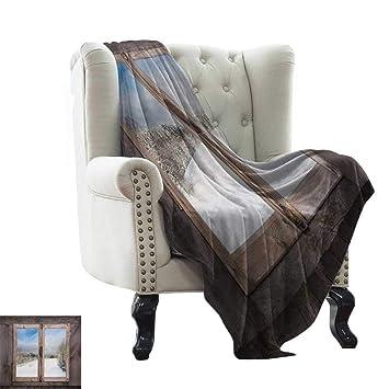 Amazon.com: LsWOW - Manta de yoga rústica, estilo castillo ...