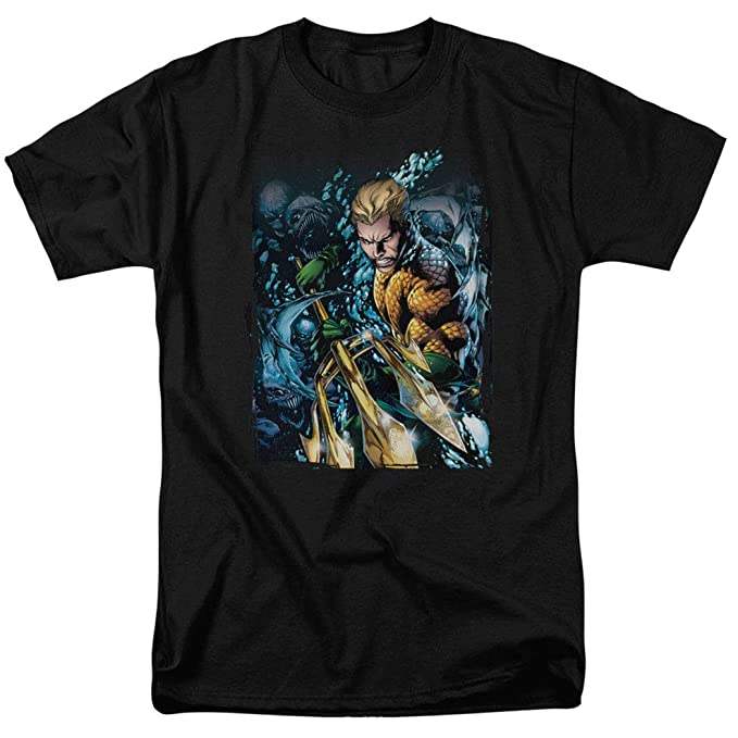 c1f6732b05d91 Popfunk Aquaman Justice League T Shirt