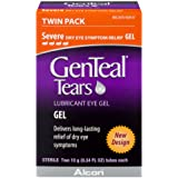 GENTEAL Lubricant Eye Gel, Severe, Twin Pack, 0.34-Ounces Each
