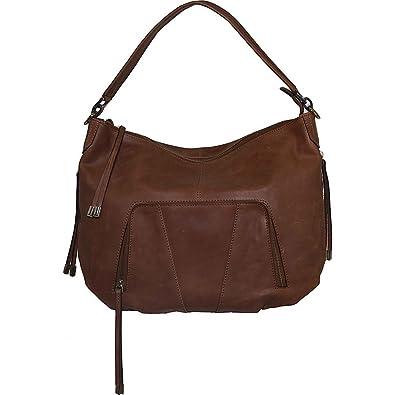 Vicenzo Leather Women s Volante Distressed Cross Body Bag 1c48ab266b79f