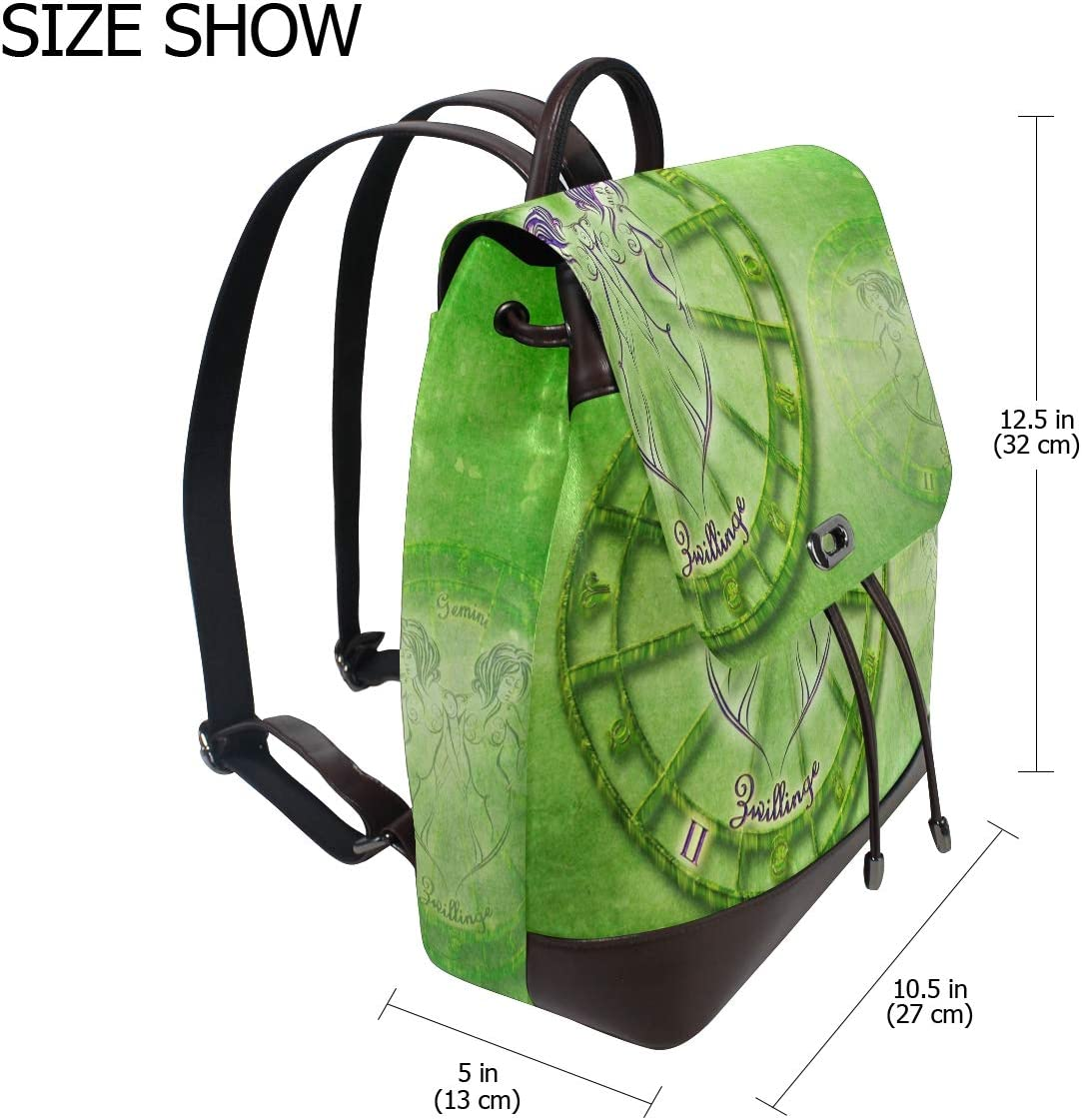 Storage Bag For Men Women Girls Boys Personalized Pattern Twins Travel Bag Backpack Shopping Bag School Bag