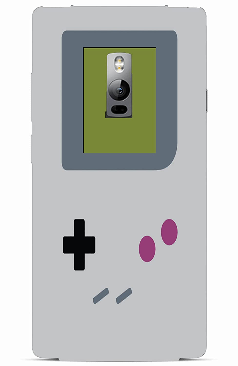 Gameboy 3D printed cover for OnePlus 2
