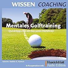 Mentales Golftraining Hörbuch von Nadine Karsch Gesprochen von: Nadine Karsch