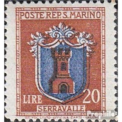 san marin 332 1945 timbres - Crest (Timbres pour les collectionneurs)