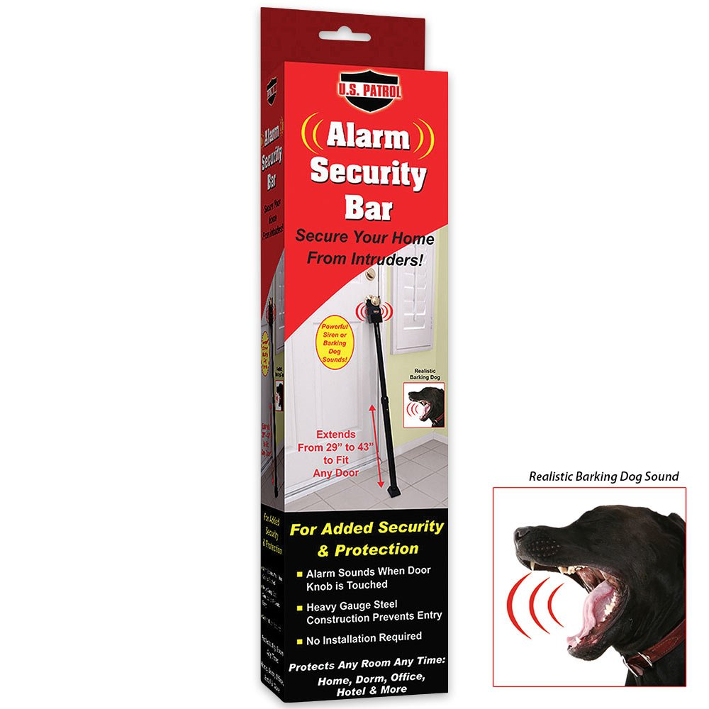 US Patrol Alarm Security Bar: Amazon.es: Iluminación