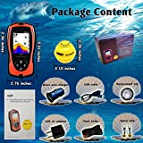 LUCKY Portable Fish Finder Transducer Sonar