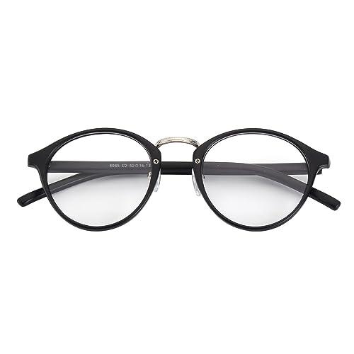 CGID CN12 Occhiali Casual Fashion Montatura Quadrata Basic Lenti Chiare