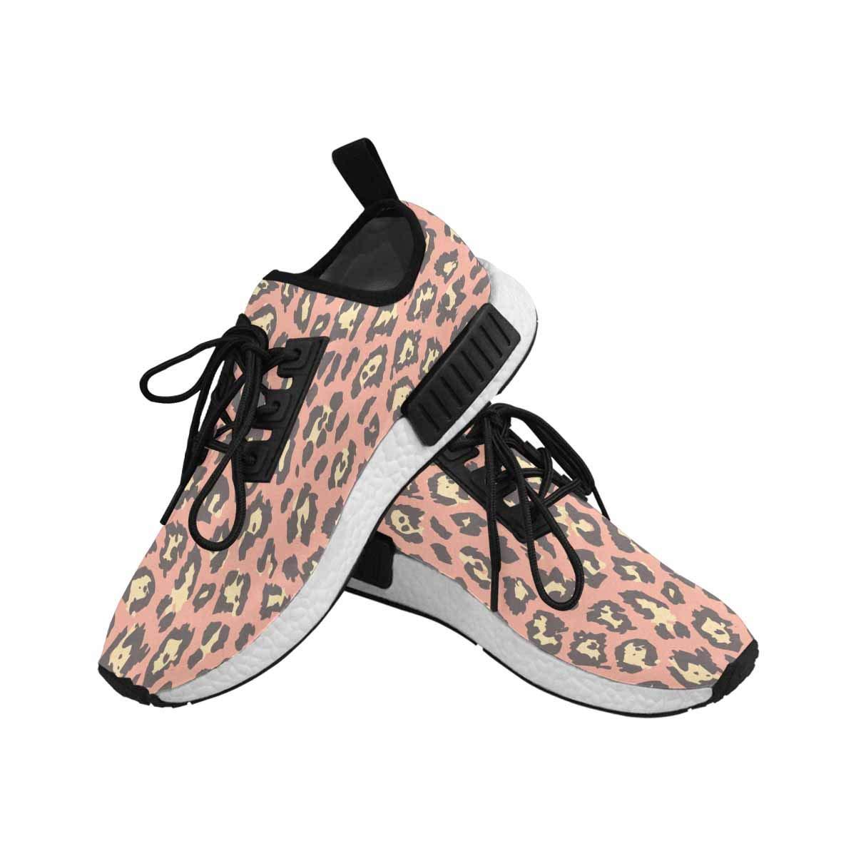 InterestPrint Women's Draco Running Comfort Sports Athletic Shoes Leopard Cheetah Skin 6 B(M) US