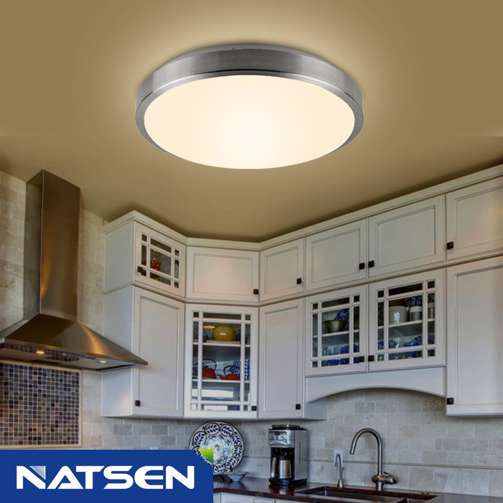 NATSEN Modern LED Ceiling lights, 12 Watts, Warm White, 11 inchse in ...
