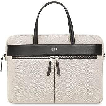 "Knomo Luggage Hanover Slim Lightweight Briefcase 14"" Briefcase"