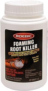 Roebic FRK-1LB FRK Foaming Root Killer, 1-Pound, 1 lb, White