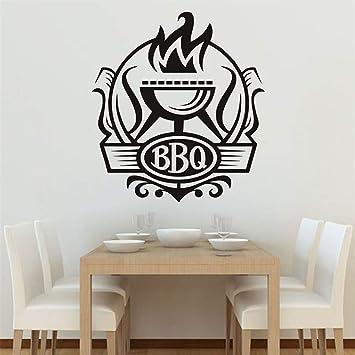 alicefen Küche BBQ Abzeichen DIY Wandaufkleber Küche Wand ...