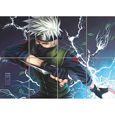 Amazon.com: Doppelganger33LTD Naruto Hatake Kakashi Anime Manga
