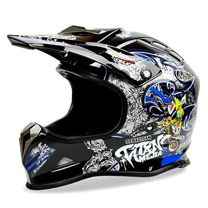 JPFCAK Off-Road Helmet BEON Motocicleta Casco A Campo Traviesa Casco De La Motocicleta CEC