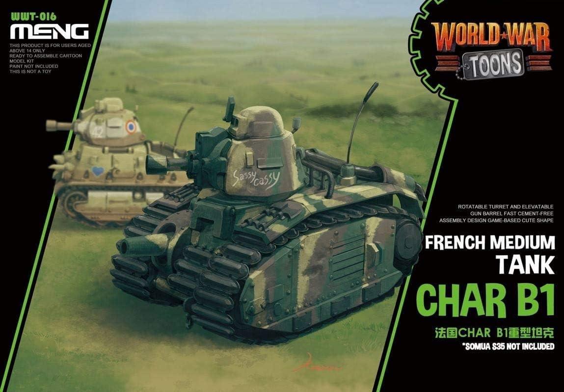 MENG WWT-016 Char B1 Modellbau