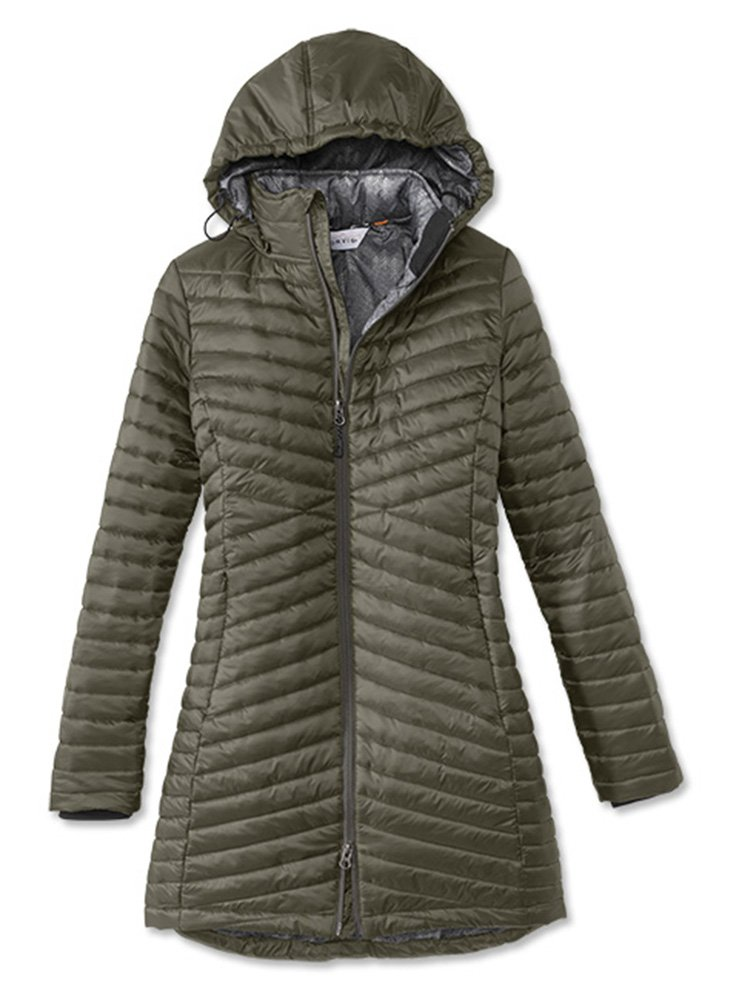 Orvis Women's Nimbus Travel Parka, Forest Green, Small