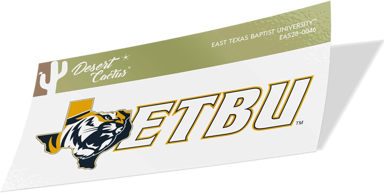 East Texas Baptist University ETBU Tigers NCAA Vinyl Decal Laptop Water Bottle Car Scrapbook Sticker - 0046