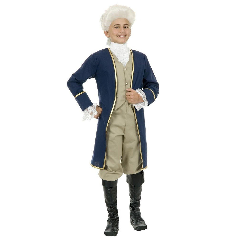 Charades Kost-me 181869 George Washington Kinderkost-m