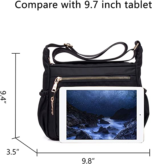 Details about  /Lady Shoulder Bags Crossbody Bag Holiday Gifts Nylon New Style Multifunction 9L