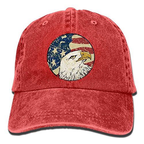 Golf Hat Imperial (Zlkshop17 Cool USA Eagle Logo Classic Jean Hats Dad Cap Hats Cap For Adult Adjustable Sports Hats)