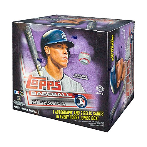 2017 Topps Update Baseball HTA Jumbo Hobby Box -