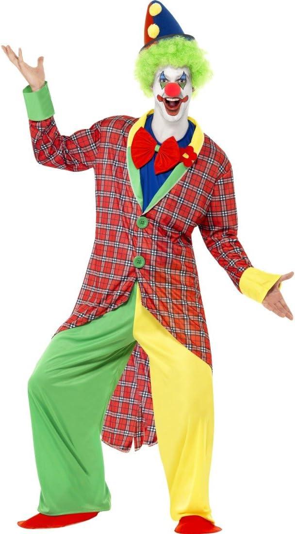 Traje de payaso de circo artista Harlequin disfraz payaso bufón ...
