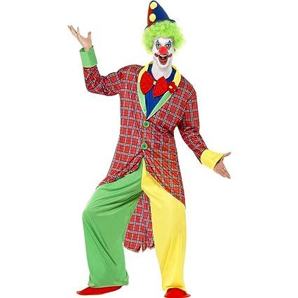 Traje de payaso de circo artista Harlequin disfraz payaso ...