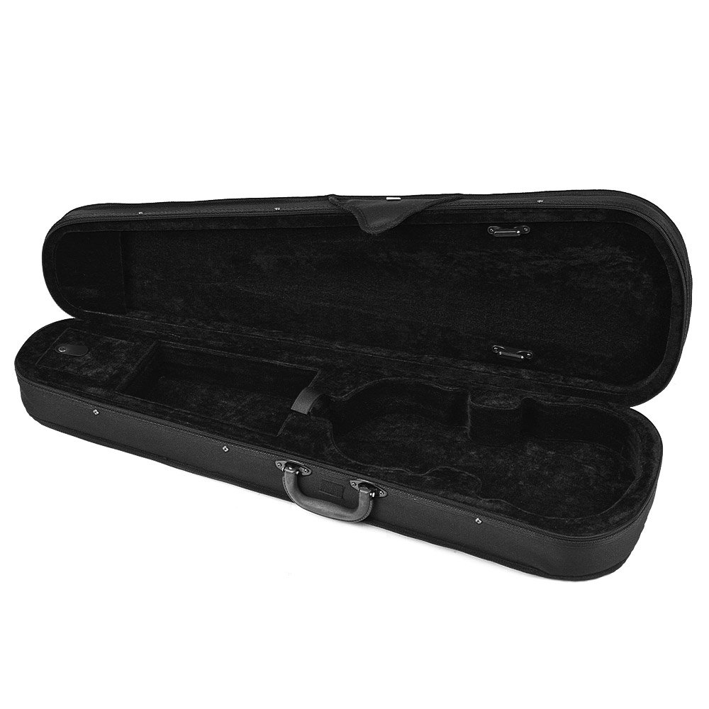 ammoon 4/4 Full Size Violin Triangle Shape Case Box Hard & Super Light with Shoulder Straps (Type 1)